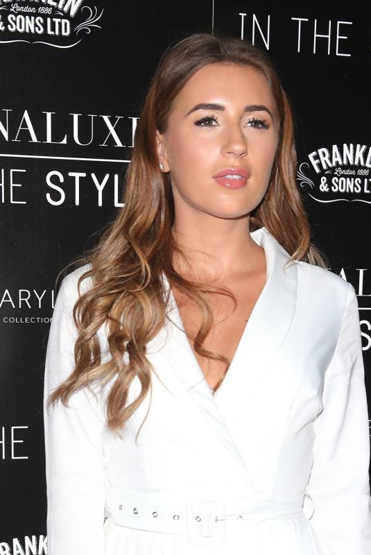 DANI DYER at Lornaluxe in Style Launch Party in London 02/11/2019