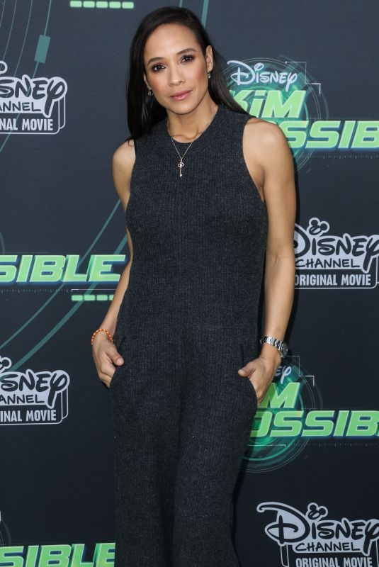 DANIA RAMIREZ at Kim Possible Premiere in Los Angeles 02/12/2019