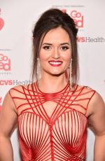 DANICA MCKELLAR at Aha Go Red for Women Red Dress Collection 2019 in New York 02/07/2019