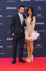DANIELLA SEMAAN at 2019 Laureus World Sports Awards in Monaco 02/18/2019