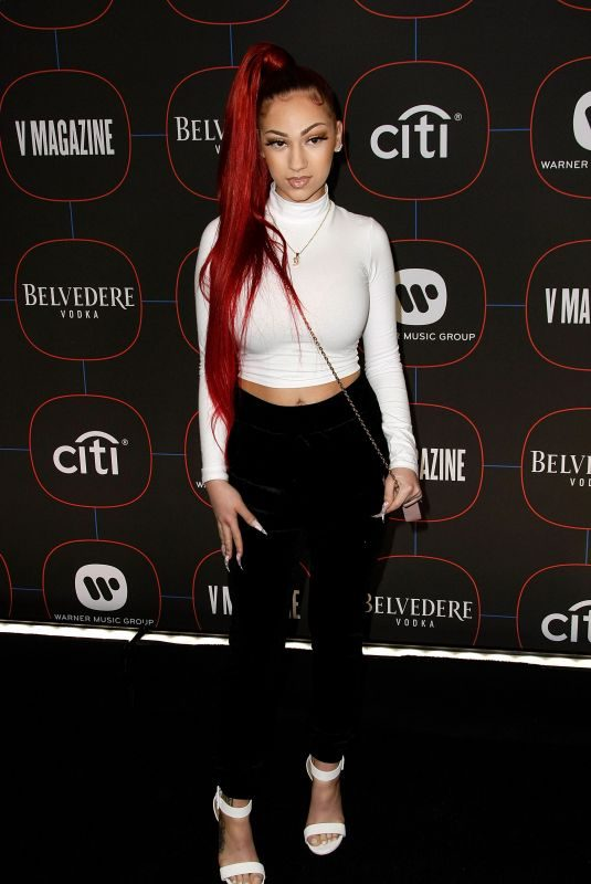 DANIELLE BREGOLI at Warner Music's Pre-Grammys Party in Los Angeles 02/07/2019