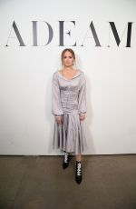 DEBBY RYAN at Adeam Show at New York Fashion Week 02/09/2019