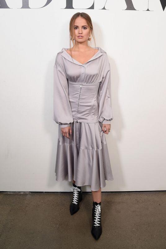 DEBBY RYAN at Adeam Show at New York Fashion Week 02/09/2019