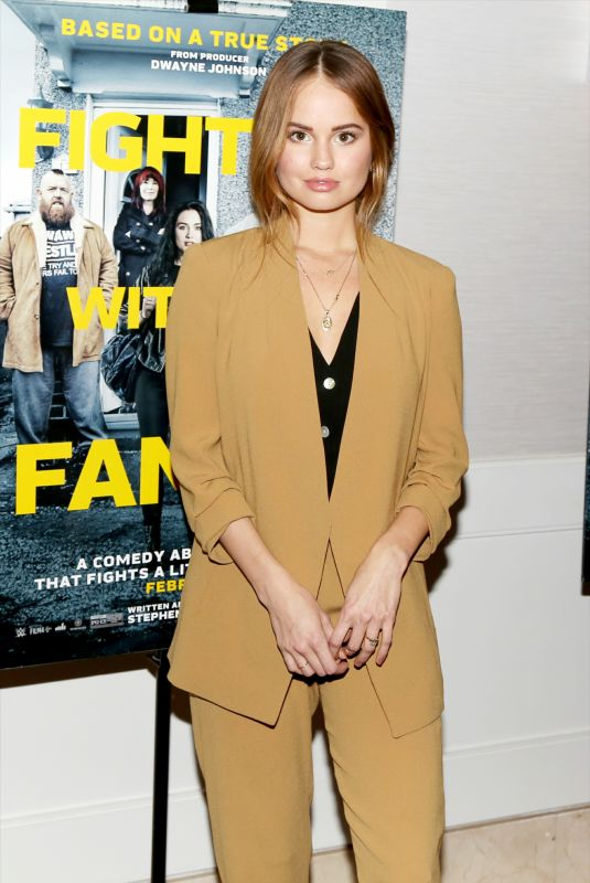 DEBBY RYAN at Fighting with My Family Tastemaker Screening in Los Angeles 02/20/2019