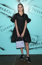 DEBBY RYAN at Tiffany & co. Modern Love Photoghaphy Exhibition in New York 02/09/2019
