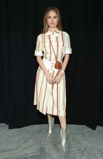 DEBBY RYAN at Tory Burch Fashion Show in New York 02/10/2019