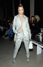 DELILAH HAMLIN at John John Fashion Show at NYFW in New York 02/12/2019