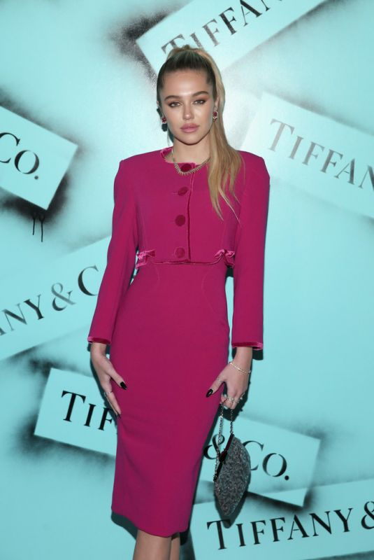 DELILAH HAMLIN at Tiffany & co. Modern Love Photoghaphy Exhibition in New York 02/09/2019