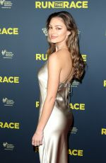 DEMI-LEIGH NEL-PETERS at Run the Race Premiere in Hollywood 02/11/2019
