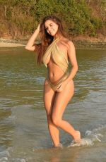 DEMI ROSE MAWBY in Bikini at a Beach in Phuket 02/11/2019