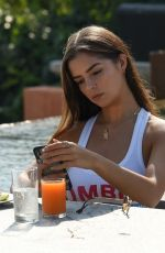 DEMI ROSE MAWBY Out for Breakfast in Phuket 02/08/2019