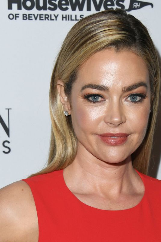 DENISE RICHARDS at The Real Housewives of Beverly Hills, Season 9 Party in West Hollywood 02/12/2019