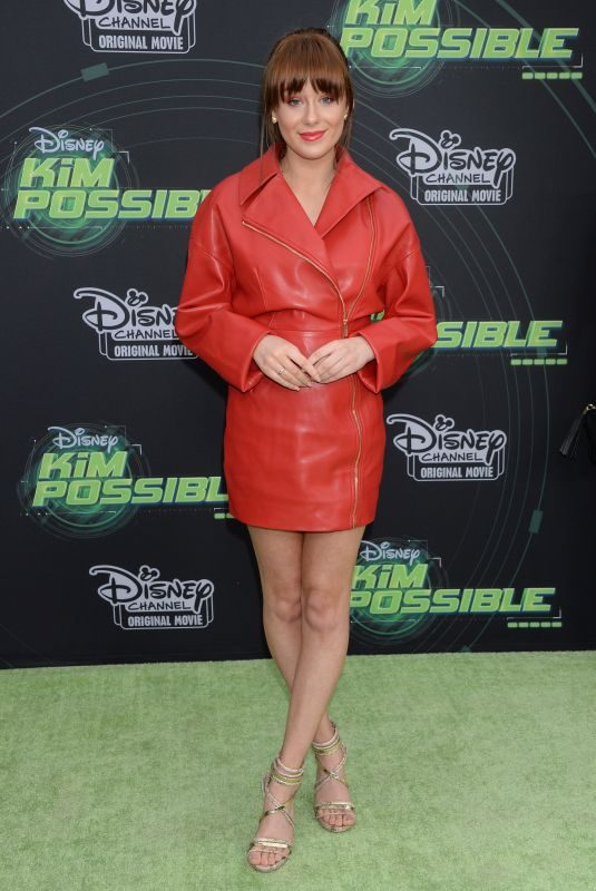 DEVORE LEDRIDGE at Kim Possible Premiere in Los Angeles 02/12/2019