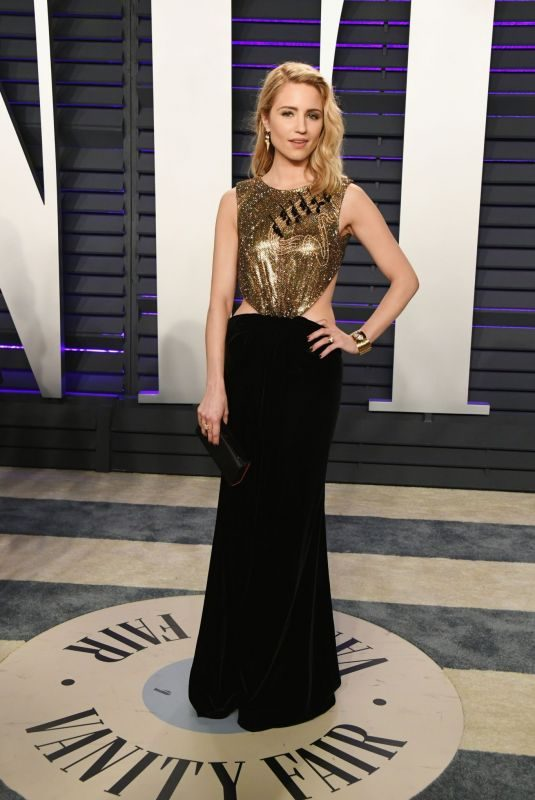 DIANNA AGRON at Vanity Fair Oscar Party in Beverly Hills 02/24/2019