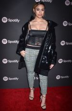 DINAH JANE at Spotify Best New Artist 2019 in Los Angeles 02/07/2019