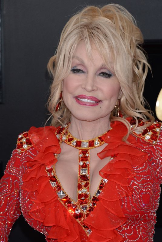 DOLLY PARTON at 61st Annual Grammy Awards in Los Angeles 02/10/2019