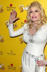 DOLLY PARTON at 9 to 5 the Musical Gala in London 02/17/2019