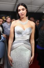 DUA LIPA at 61st Annual Grammy Awards in Los Angeles 02/10/2019