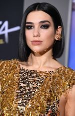 DUA LIPA at Alita: Battle Angel Premiere in Los Angeles 02/05/2019