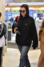 DUA LIPA at LAX Airport in Los Angeles 02/14/2019