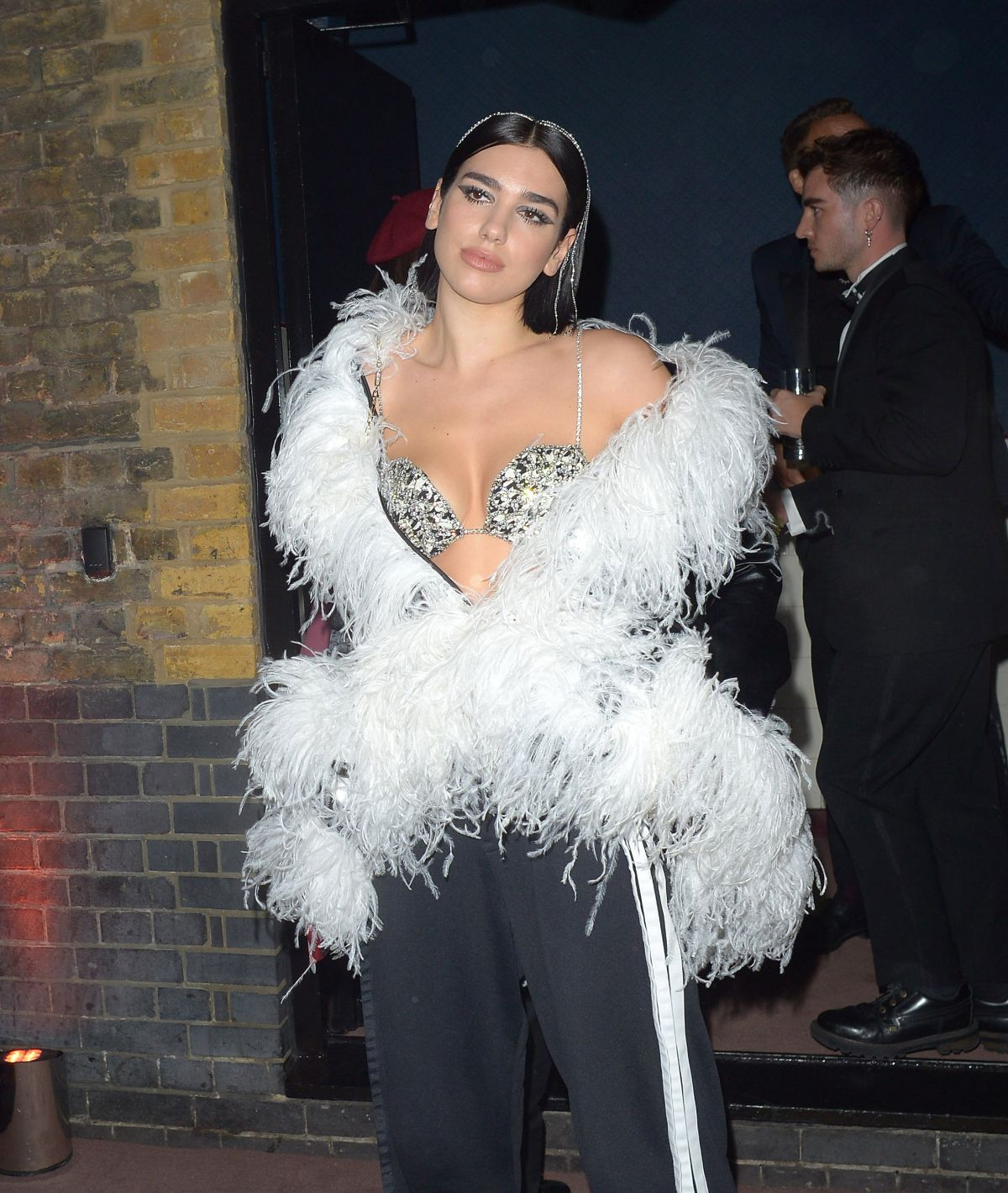 DUA LIPA at Warner Music Brit Awards Party in London 02/20/2019