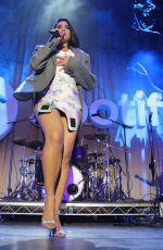 DUA LIPA Performs at Spotify Best New Artist Party in Los Angeles 02/07/2019