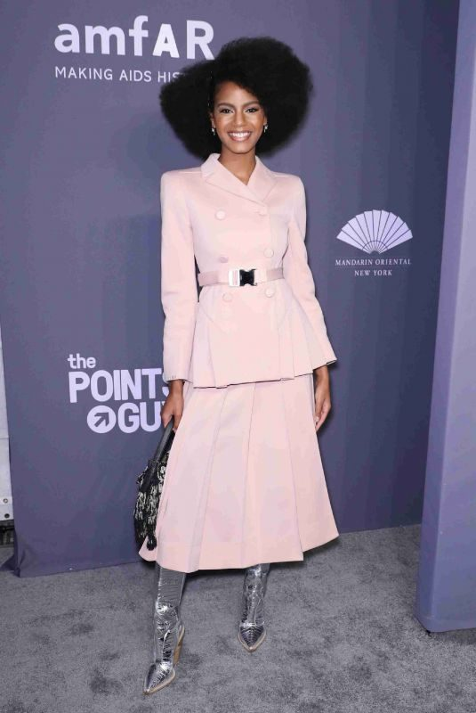 EBONEE DAVIS at Amfar New York Gala 2019 02/06/2019