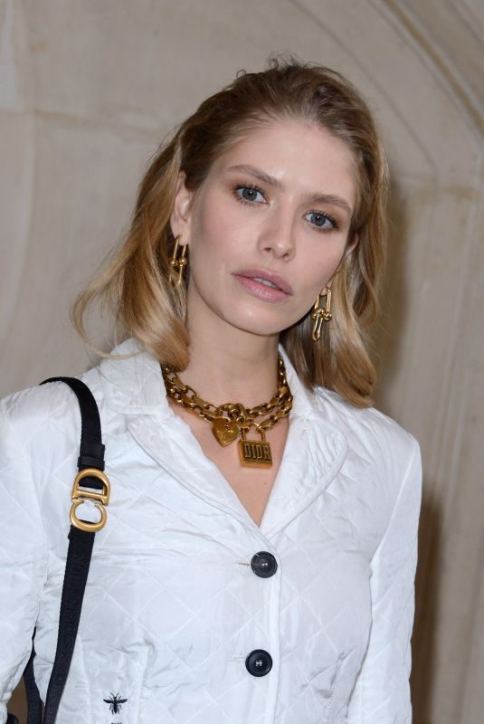 ELENA PERMINOVA at Christian Dior Show at Paris Fashion Week 02/26/2019