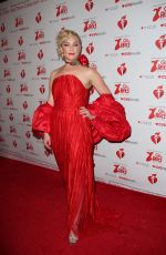 ELISABETH ROHM at Heart Truth Go Red for Women Red Dress Collection Runway in New York 02/07/2019