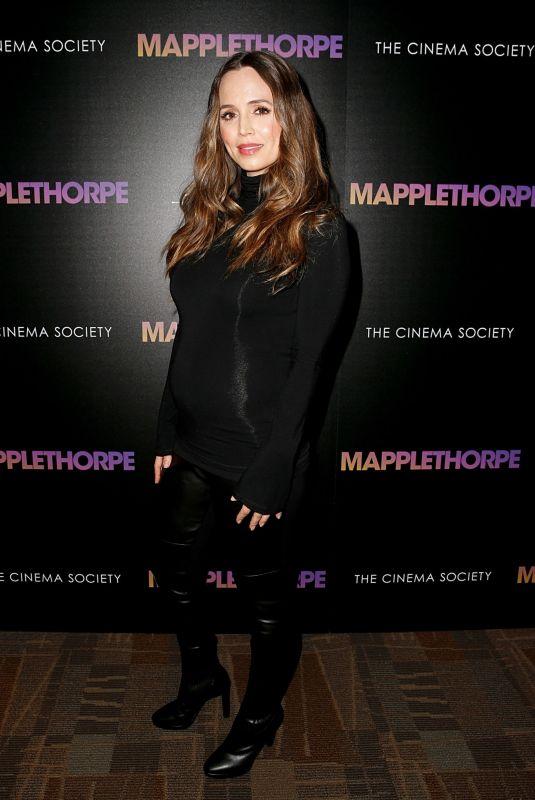 ELIZA DUSHKU at Mapplethrope Screening at Cinepolis Chelsea in New York 02/14/2019