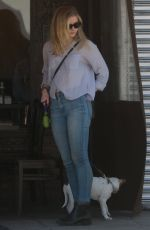ELIZA SCANLEN Leaves Kings Cafe in West Hollywood 02/25/2019