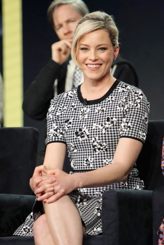 ELIZABETH BANKS at 2019 Winter TCA Tour in Pasadena 02/11/2019