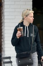 ELIZABETH BANKS Out and About in Los Angeles 02/26/2019