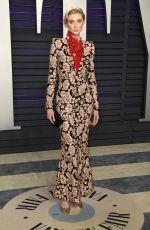 ELIZABETH DEBICKI at Vanity Fair Oscar Party in Beverly Hills 02/24/2019