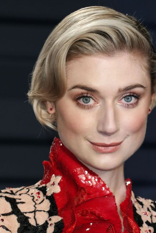 ELIZABETH DEBICKI at Vanity Fair Oscar Party in Beverly Hills 02/24/2019