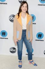 ELIZABETH HENSTRIDGE at 2019 TCA Winter Press Tour in PAsadena 02/05/2019