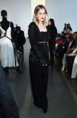 ELIZABETH LAIL at Self-portrait Fashion Show in New York 02/09/2019