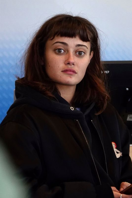 ELLA PURNELL at LAX Airport in Los Angeles 02/19/2019