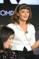 ELLA PURNELL at Now Apocalypse Panel in Los Angeles 02/12/2019
