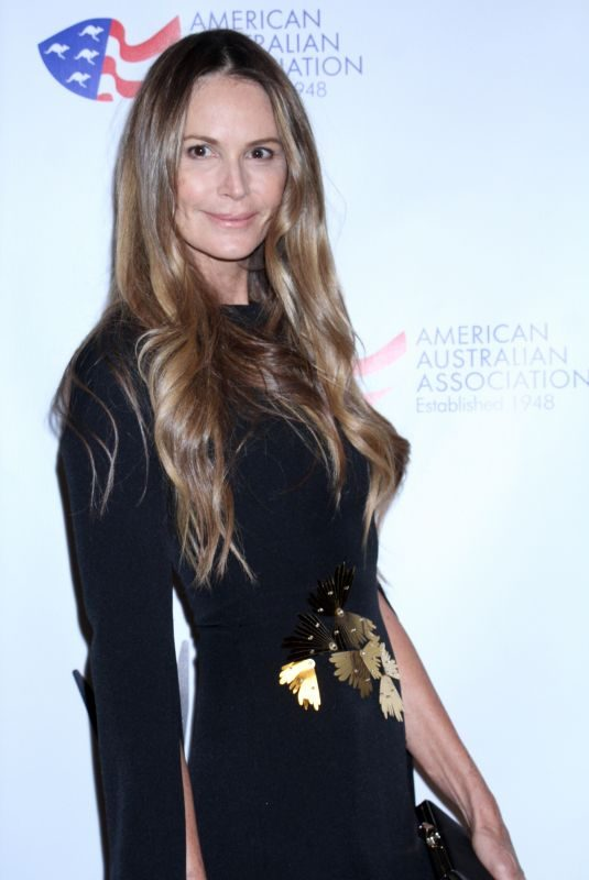 ELLE MACPHERSON at American Australian Arts Awards in New York 01/31/2019