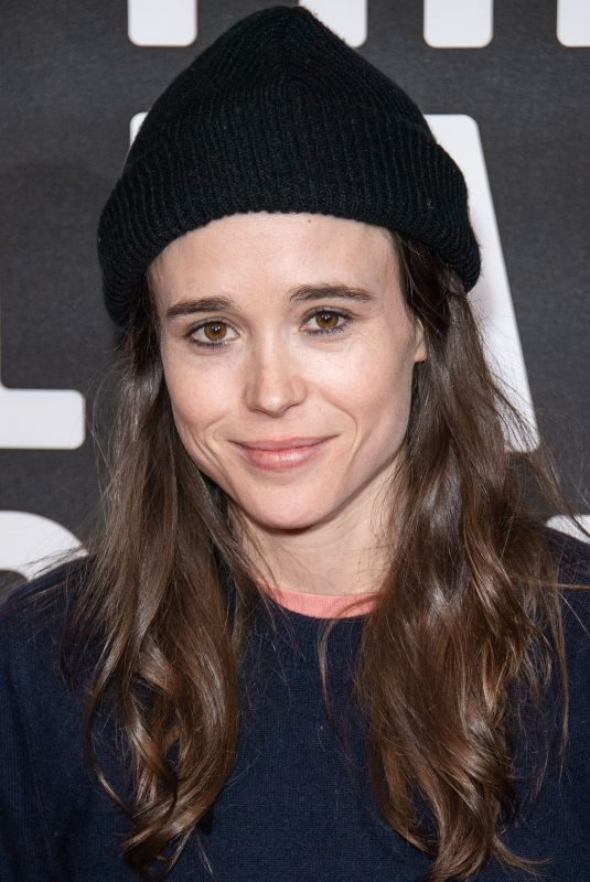 ELLEN PAGE at The Umbrella Academy Special Screening in London 02/07/2019