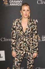 ELLIE GOULDING at Clive Davis Pre-grammy Gala in Los Angeles 02/09/2019