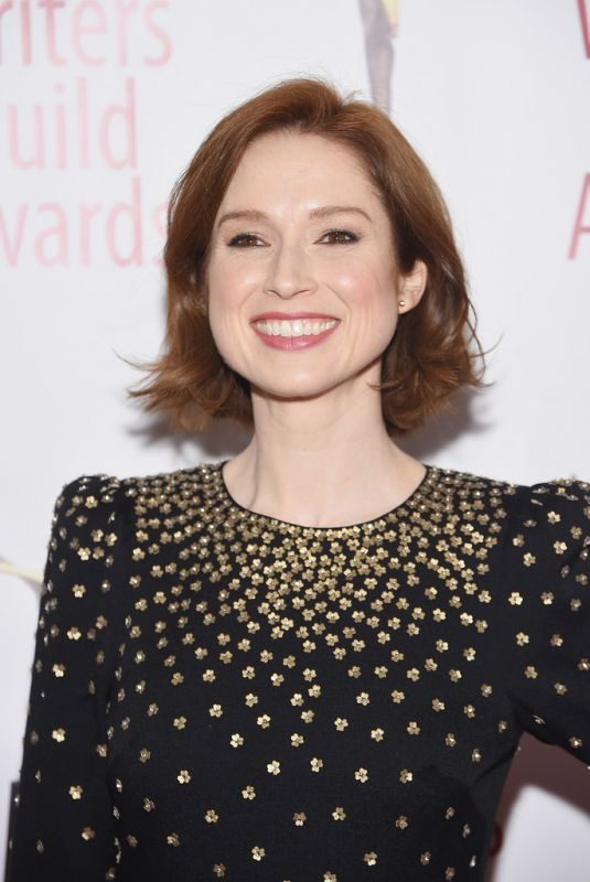 ELLIE KEMPER at Writers Guild Awards in Los Angles 02/17/2019