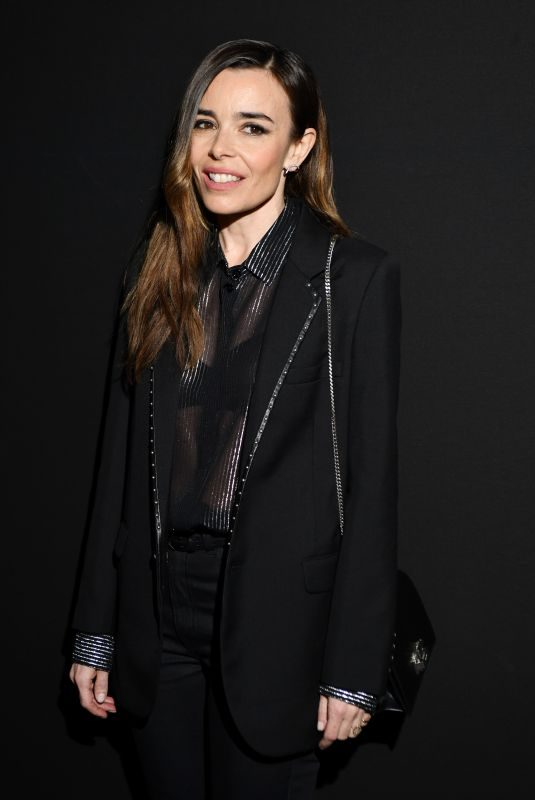 ELODIE BOUCHEZ at Saint Laurent Show at Paris Fashion Week 02/26/2019