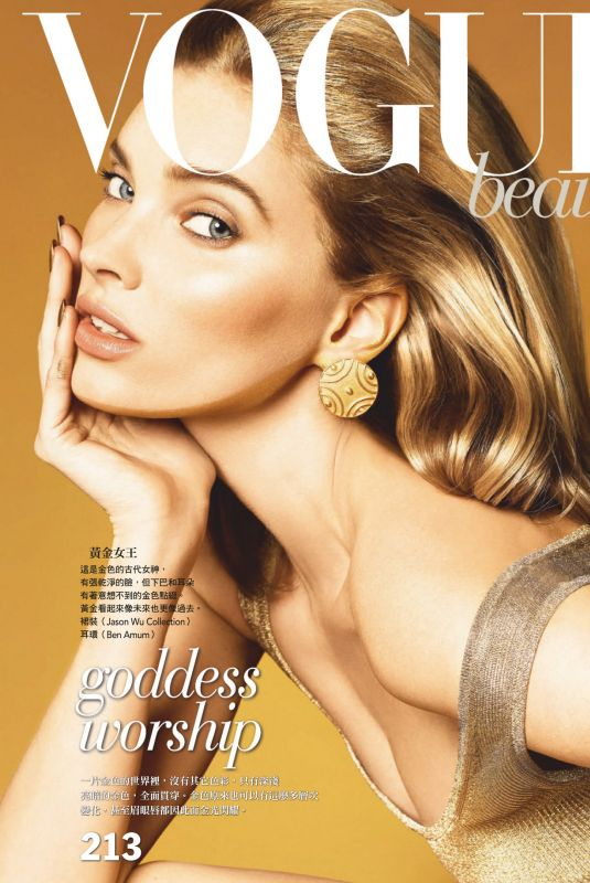 ELSA HOSK in Vogue Magazine, Taiwan February 2019