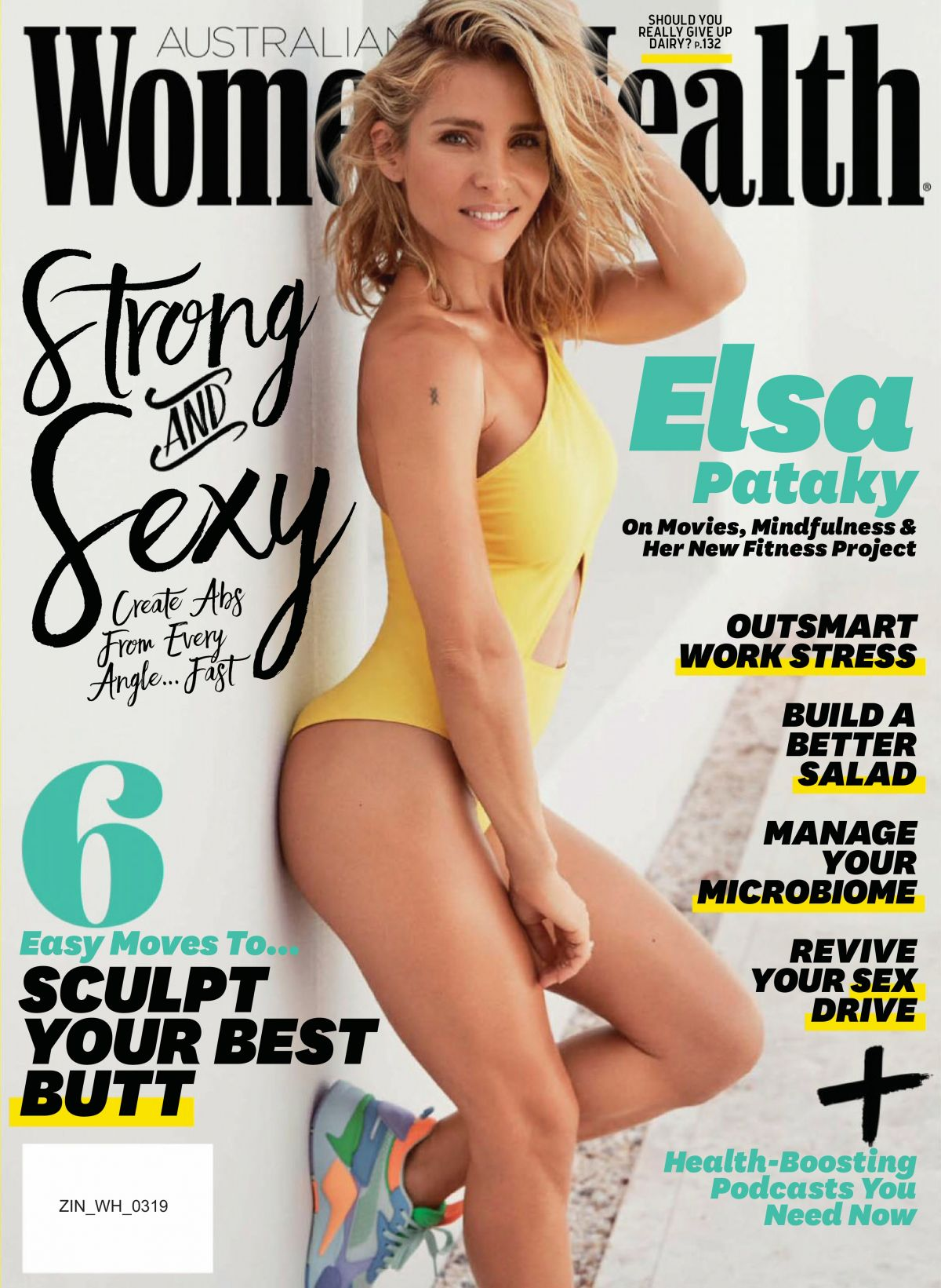 Elsa Pataky In Womens Health Magazine March 2019 Issue Hawtcelebs