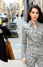 EMERAUDE TOUBIA Arrives at Build in New York 02/25/2019