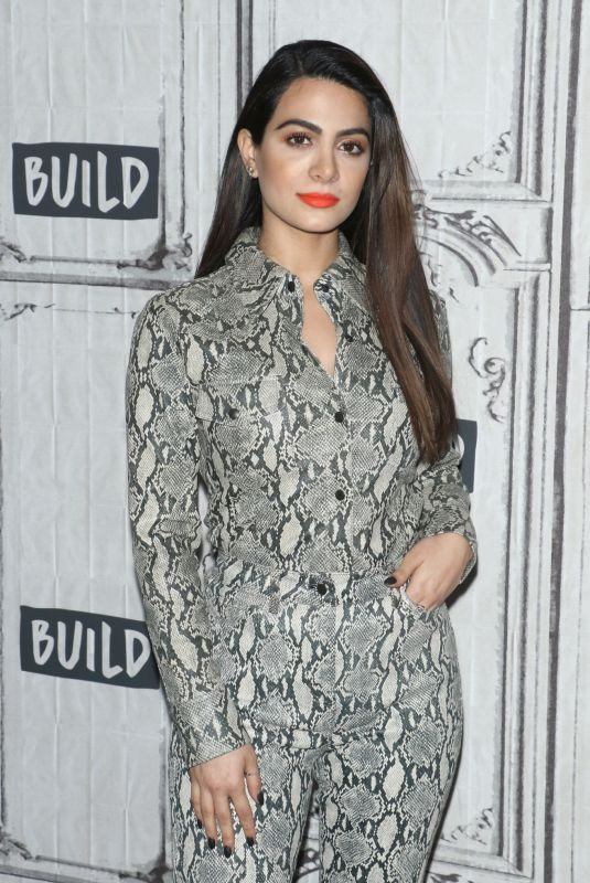 EMERAUDE TOUBIA at build studio in new york city on february 25, 2019 | picture pub