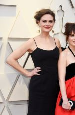 EMILY and ZOOEY DESCHANEL at Oscars 2019 in Los Angeles 02/24/2019