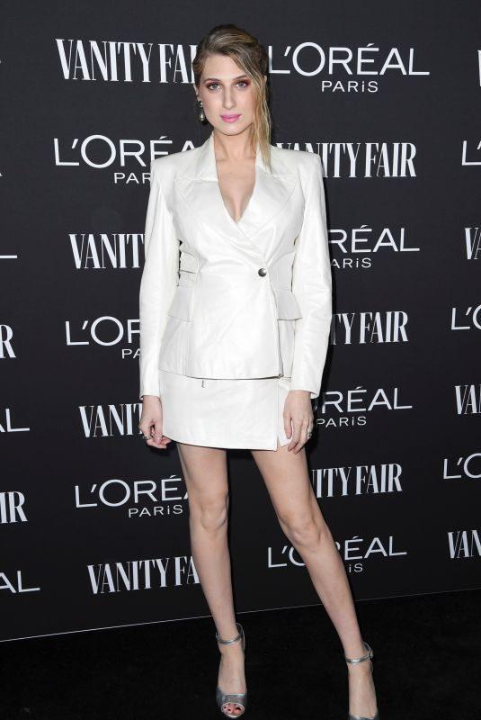 EMILY ARLOOK at Vanity Fair & L'Oreal Paris Celebrate New Hollywood in Los Angeles 02/19/2019